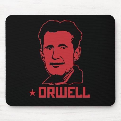 Retrato Mousepad de George Orwell