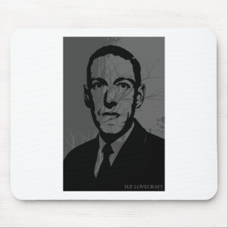 Retrato Mousepad de HP Lovecraft Alfombrillas De Ratones
