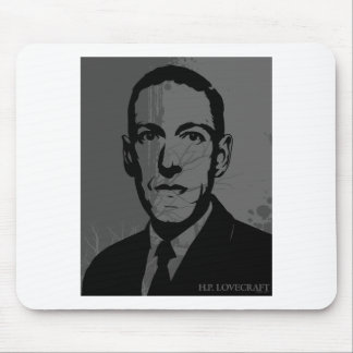 Retrato Mousepad de HP Lovecraft Tapete De Ratones