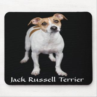 Retrato Mousepad de Jack Russell Terrier Tapetes De Ratón