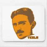 Retrato Mousepad de Nikola Tesla Alfombrillas De Ratones