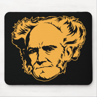 Retrato Mousepad de Schopenhauer Tapete De Raton