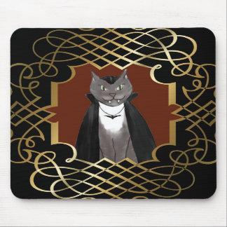 Retrato Mousepad del gatito del vampiro