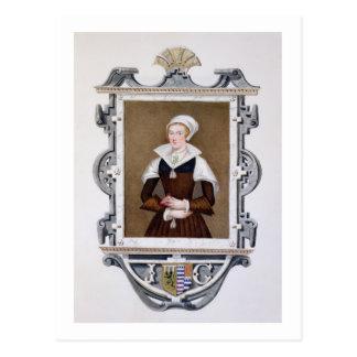 Retrato Nueve-Días Qu de señora Jane de Grey (1537 Postal