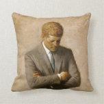 Retrato oficial de John F. Kennedy de Aaron Shikle Cojines