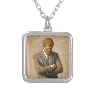 Retrato oficial de John F. Kennedy de Aaron Shikle Colgantes Personalizados