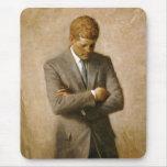 Retrato oficial de John F. Kennedy de Aaron Shikle Alfombrilla De Ratón