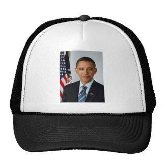 Retrato oficial de presidente Barack Obama Gorras