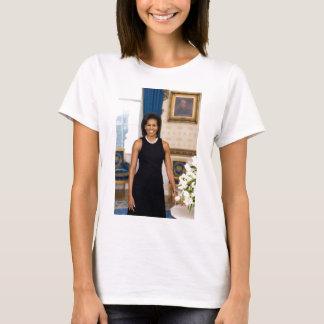 Retrato oficial de primera señora Michelle Obama Playera