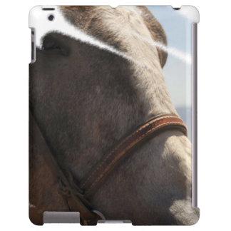Retrato orgulloso de la cara de la cabeza de cabal funda para iPad