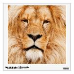 Retrato orgulloso del león