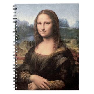 Retrato pintura de Mona Lisa Cuadernos
