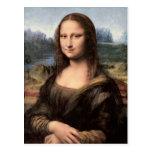 Retrato/pintura de Mona Lisa Tarjeta Postal