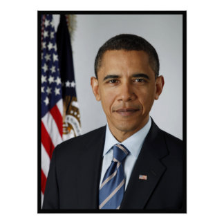 Retrato presidencial de Barack Obama Impresiones