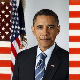 Retrato presidencial de los E.E.U.U. del funcionar Fotoescultura Vertical