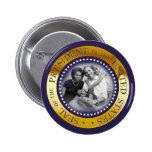 Retrato presidencial del sello de Obama Pin