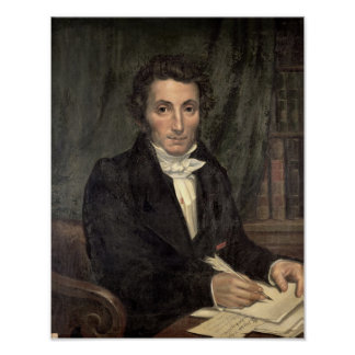 Retrato Rene de Caillie Posters