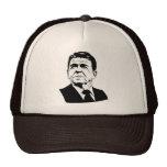 Retrato retro de Ronald Reagan los an o 80 Gorro
