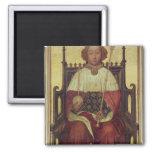 Retrato Richard II 'la Westminster Portrait Imán Cuadrado
