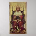 Retrato Richard II 'la Westminster Portrait Póster