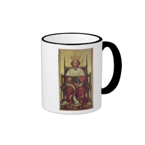 Retrato Richard II 'la Westminster Portrait Tazas De Café