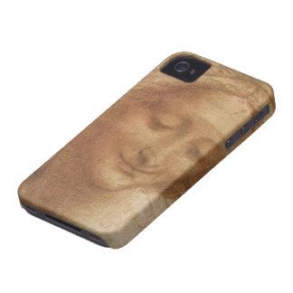 Retrato Santa Ana de Leonardo da Vinci iPhone 4 Protectores