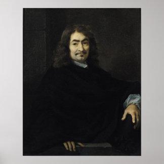 Retrato, supuesto para ser Rene Descartes Poster