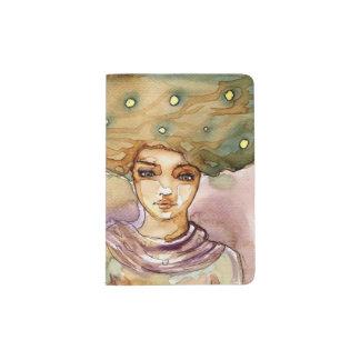 Retrato y mujer abstractos del bonito