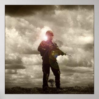Retratos de Airsoft: El tanque Póster