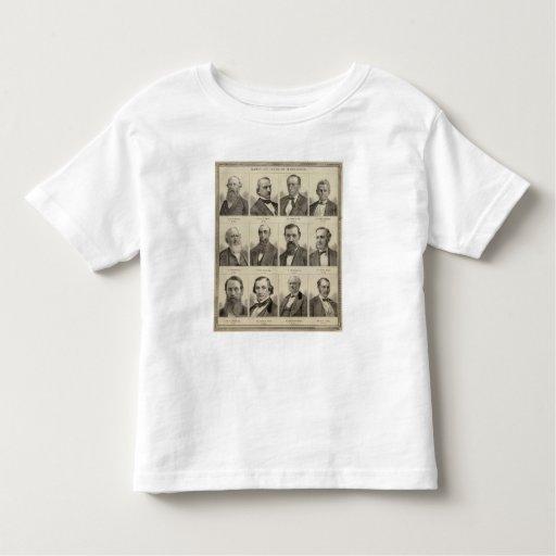 Retratos de colonos tempranos de Minnesota Playera De Bebé