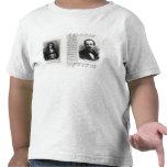 Retratos de Denis Papin y de Etienne Lenoir Camiseta