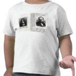 Retratos de Denis Papin y de Etienne Lenoir Camisetas