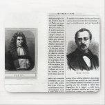 Retratos de Denis Papin y de Etienne Lenoir Tapete De Raton