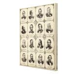 Retratos de Gustavus Koerner Impresion En Lona