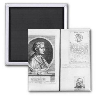 Retratos de Horacio Scipio Aemilianus Imán Cuadrado