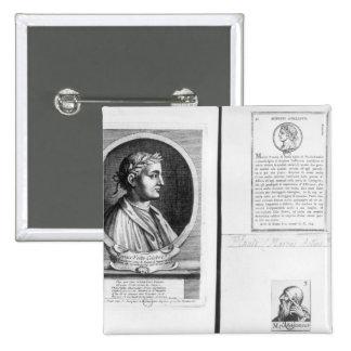 Retratos de Horacio Scipio Aemilianus Pin Cuadrado