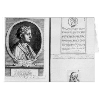 Retratos de Horacio Scipio Aemilianus Felicitacion