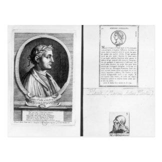 Retratos de Horacio Scipio Aemilianus Postal