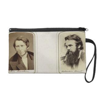 Retratos de John Ruskin (1819-1900) y de Guillermo