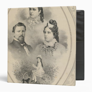 Retratos de la familia de Curtiss y de Todd