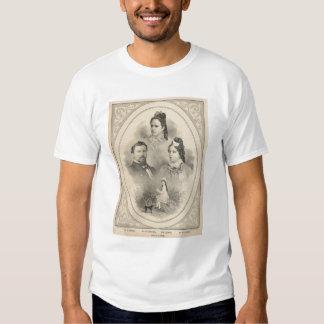 Retratos de la familia de Curtiss y de Todd Playeras