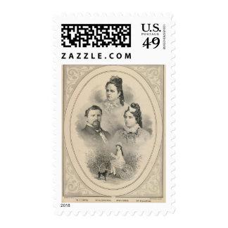 Retratos de la familia de Curtiss y de Todd Envio