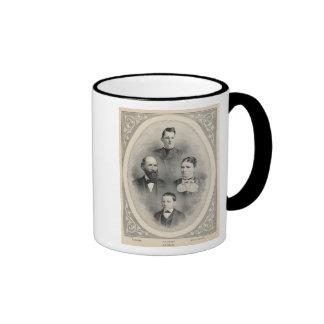 Retratos de la familia de los chiles tazas