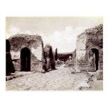 Retratos de los emperadores romanos tarjetas postales