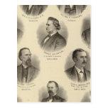 Retratos de Rev H Gilliland, Wm F Terhune Tarjeta Postal