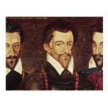 Retratos de tres duques de modo postal