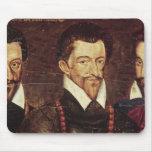 Retratos de tres duques de modo alfombrillas de ratón