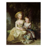 Retratos del niño de Marie-Teresa-Charlotte Posters