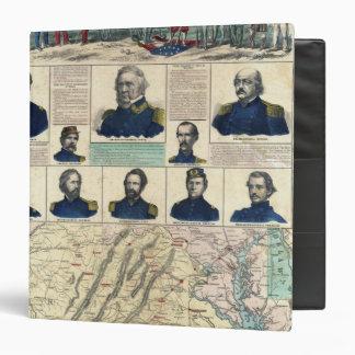 """Retratos militares carpeta 1 1/2"""""""