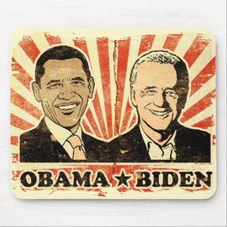 Retratos Mousepad de Obama Biden Alfombrillas De Raton